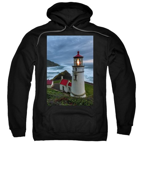 Heceta Head Lighthouse Evening Sweatshirt