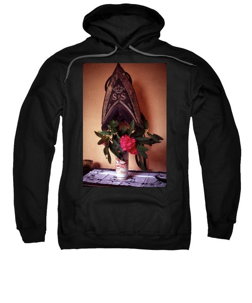 Helmet And Flower Sweatshirt