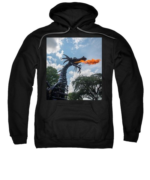 Here There Be Dragons Sweatshirt