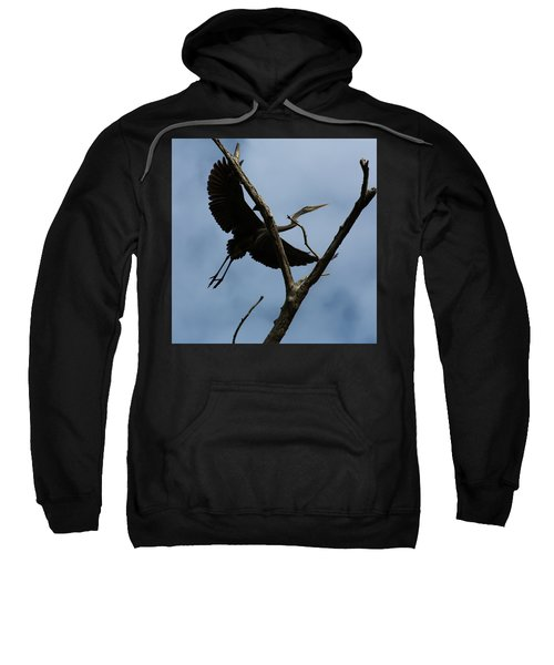 Heron Flight Sweatshirt