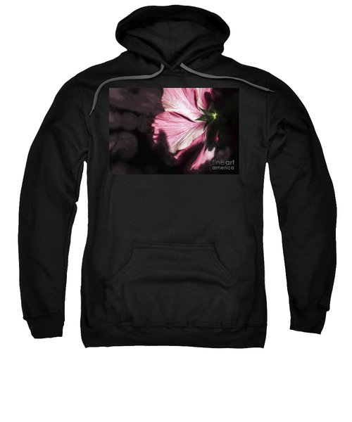 Hibiscus In The Rear View Window Sweatshirt