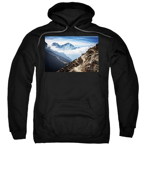 High In The Himalayas Sweatshirt