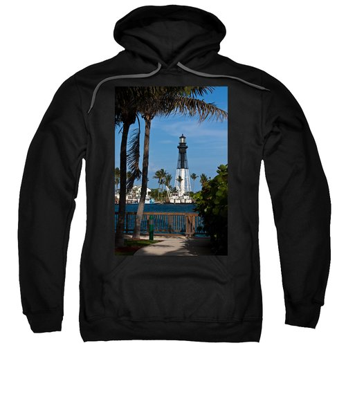 Hillsboro Inlet Lighthouse And Park Sweatshirt