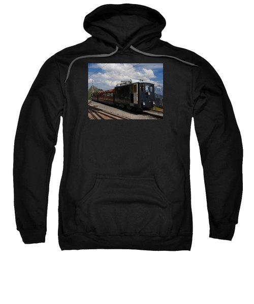 Historic Cogwheel Train  Sweatshirt