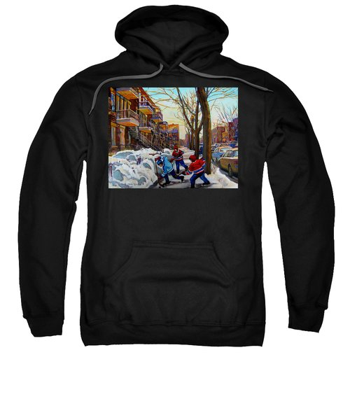 Hockey On De Bullion  Sweatshirt
