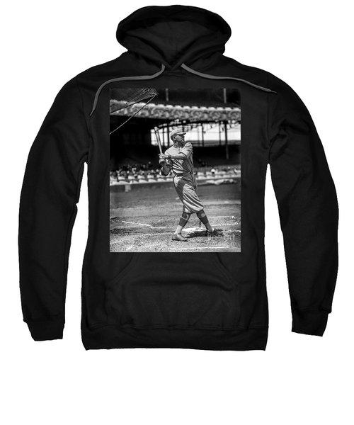Home Run Babe Ruth Sweatshirt by Jon Neidert