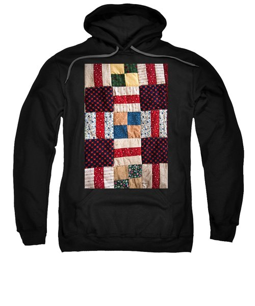 Homemade Quilt Sweatshirt