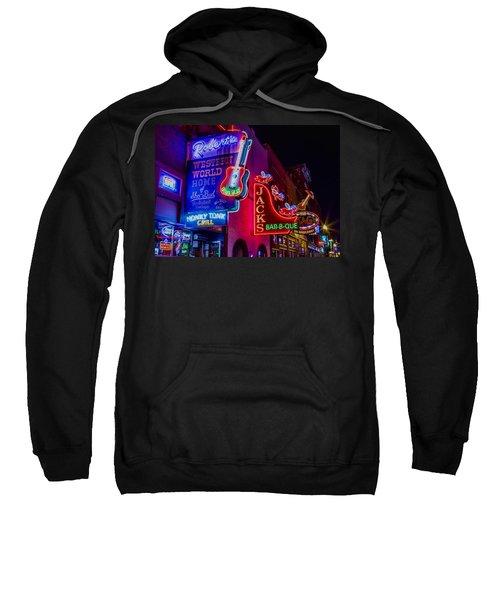 Honky Tonk Broadway Sweatshirt by Stephen Stookey