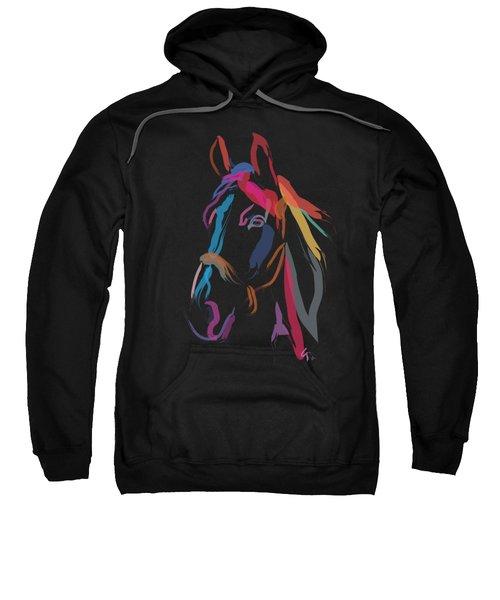 Horse-colour Me Beautiful Sweatshirt