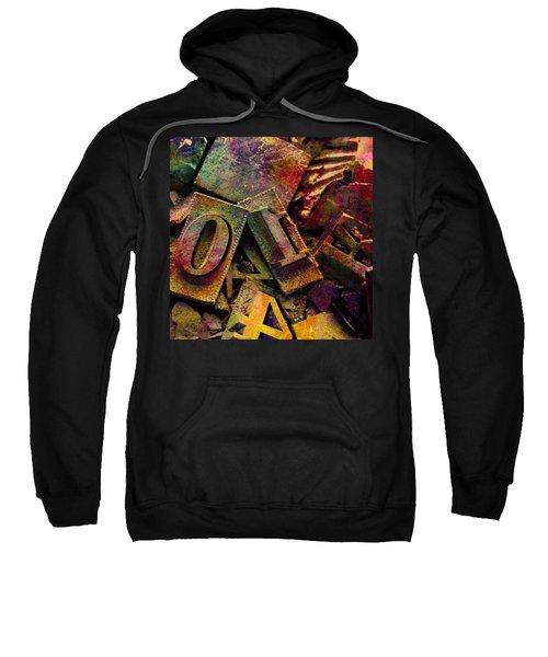 Hot Metal Type Sweatshirt