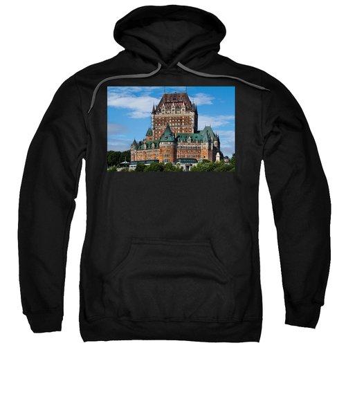 Chateau Frontenac In Quebec City Sweatshirt