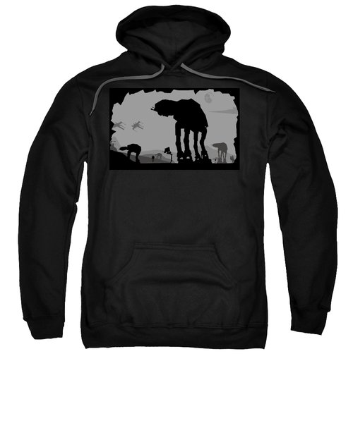 Hoth Machines Sweatshirt by Michael Bergman