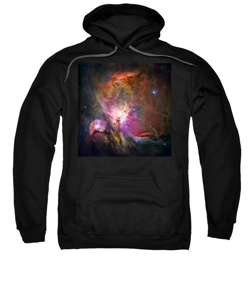 Hubble's Sharpest View Of The Orion Nebula Sweatshirt by Adam Romanowicz