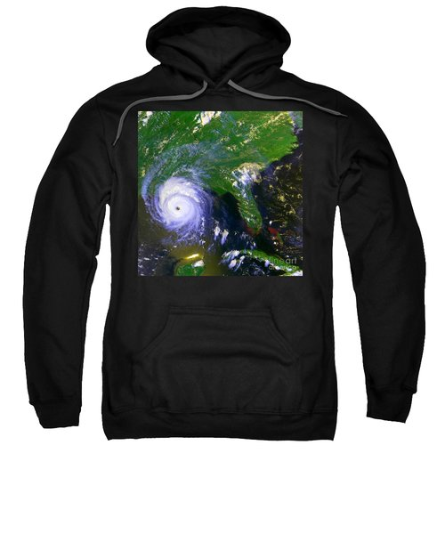Hurricane Andrew, Goes Image, 1992 Sweatshirt