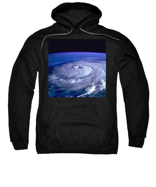 Hurricane From Space Sweatshirt