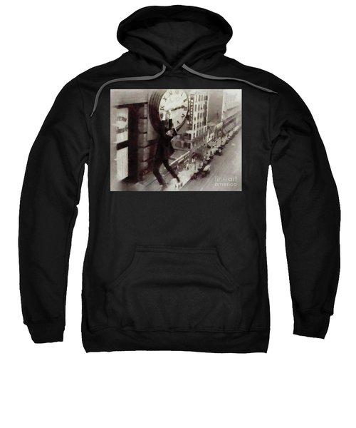 Iconic Movie Moments - Harold Lloyd Sweatshirt