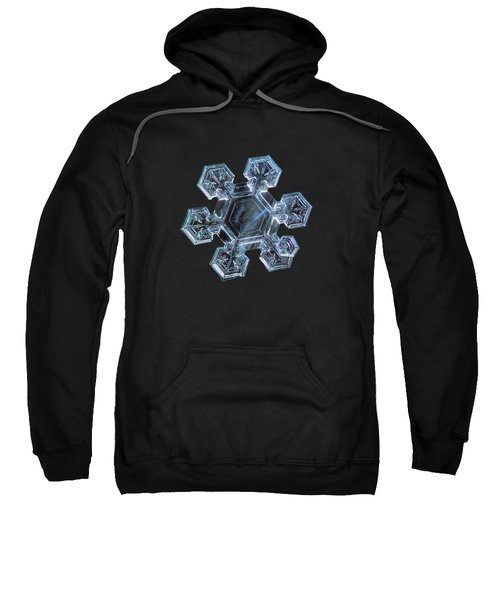 Icy Jewel, Panoramic Version Sweatshirt