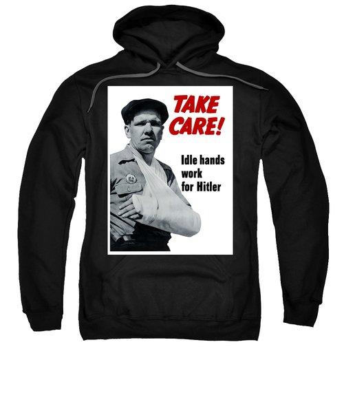 Idle Hands Work For Hitler Sweatshirt