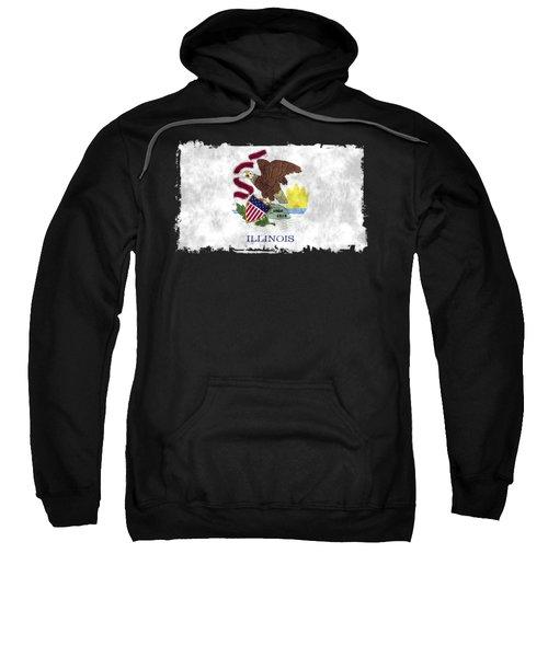 Illinois Flag Sweatshirt