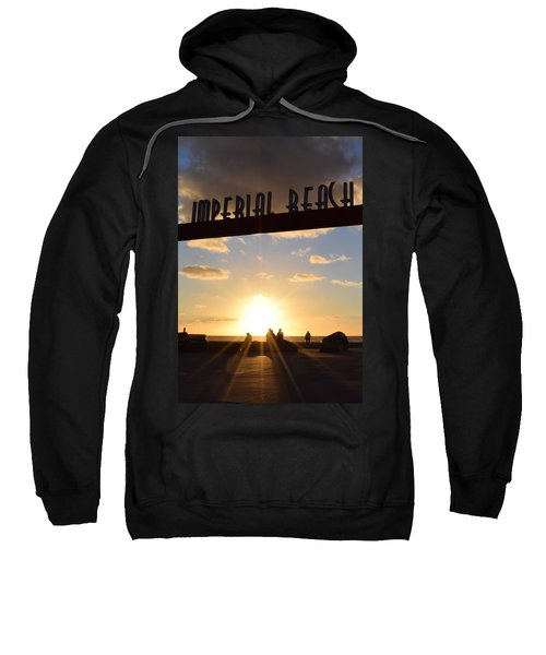 Imperial Beach At Sunset Sweatshirt