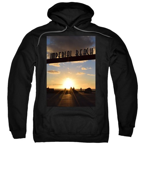Imperial Beach At Sunset Sweatshirt