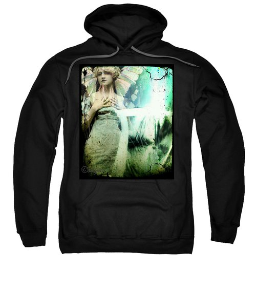 In Her Dreams She Could Fly Unfettered Sweatshirt