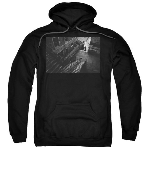 In Pursuit Of The Devil On The Stairs Sweatshirt