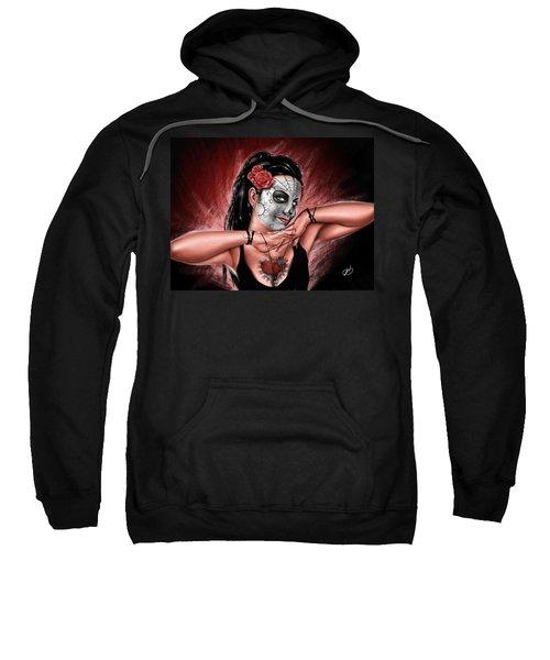 In The Hands Of Death Sweatshirt