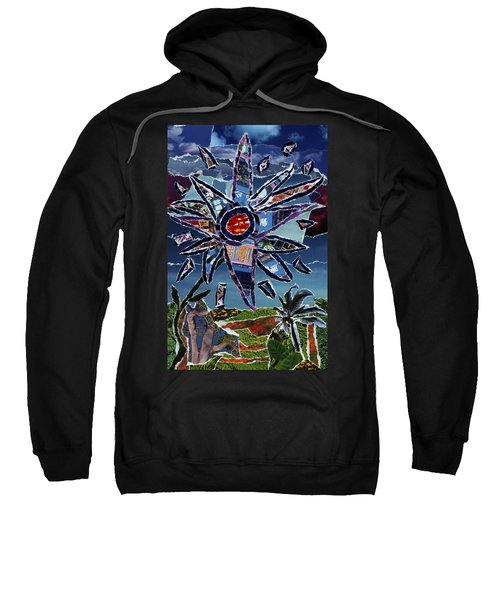 Industrial Flower Sweatshirt