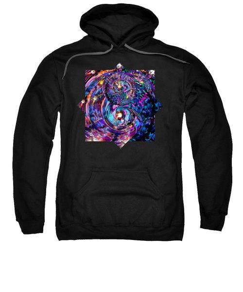 Infinity...  Turned On It's Ear Sweatshirt