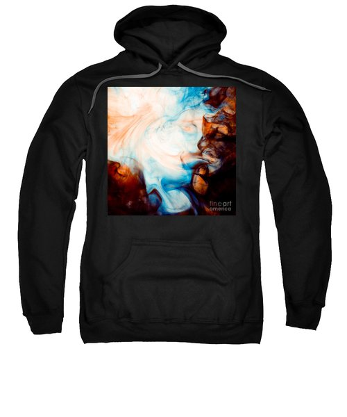 Ink Swirls 001 Sweatshirt