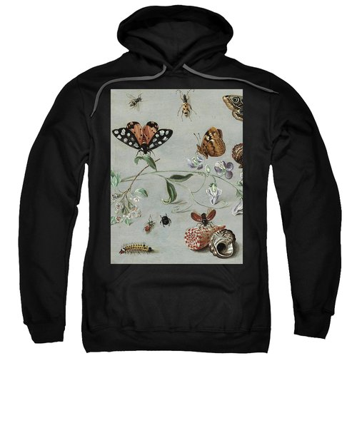 Insects, Butterflies And Clams Sweatshirt