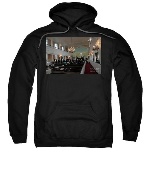 Inside The S. Georges Church Episcopal Anglican Sweatshirt