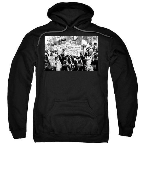 International March Of The Women In Paris November 20, 1971 Sweatshirt