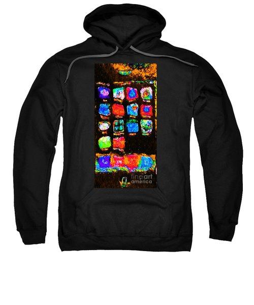 Iphone In Abstract Sweatshirt