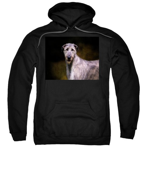 Irish Wolfhound Portrait Sweatshirt