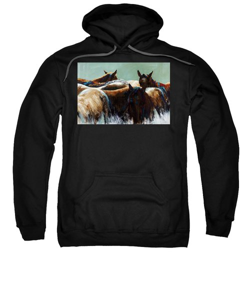 Its All About The Brush Stroke Sweatshirt