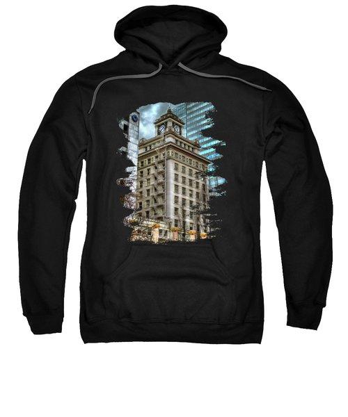 Jackson Tower Portland Oregon Sweatshirt