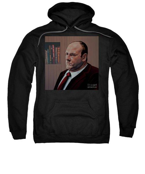 James Gandolfini Painting Sweatshirt
