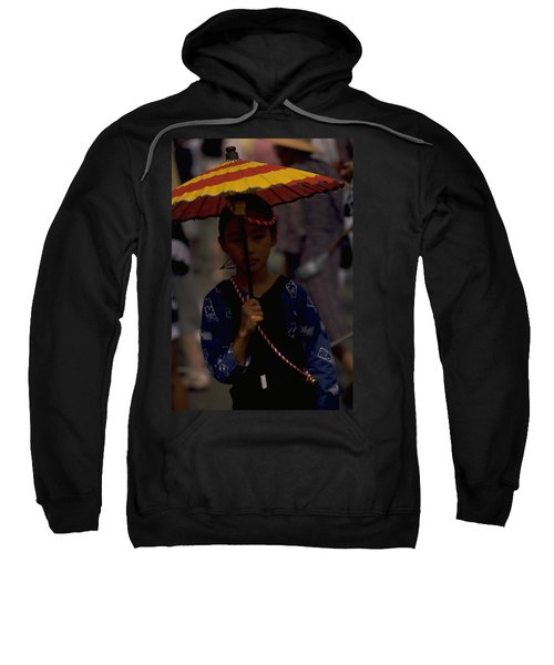 Sweatshirt featuring the photograph Japanese Girl by Travel Pics
