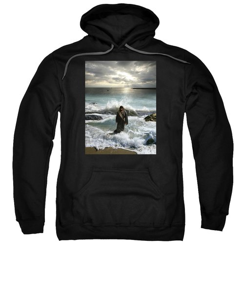 Jesus Christ- I Have Come As A Light Into The World Sweatshirt