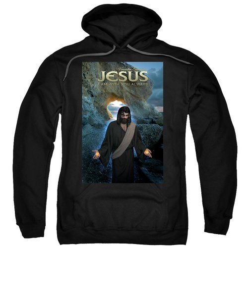 Jesus- I Am With You Always Sweatshirt