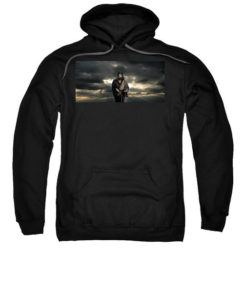 Jesus In The Clouds With Glory Sweatshirt