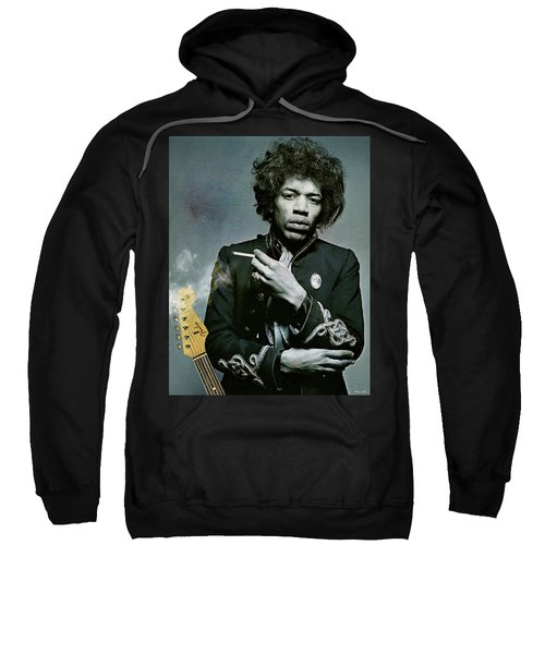 Jimi Hendrix, Fender Guitar Sweatshirt