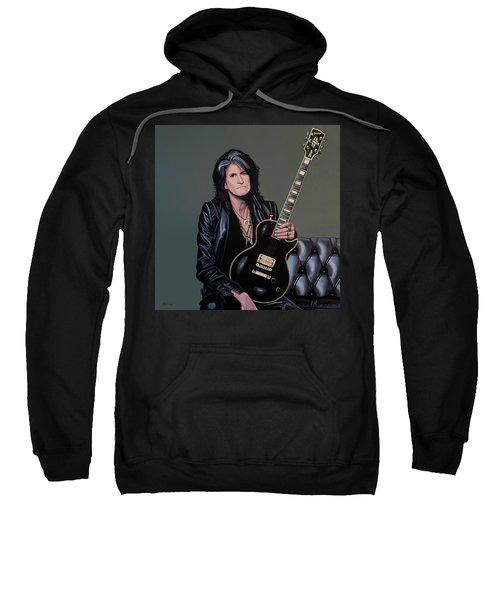 Joe Perry Of Aerosmith Painting Sweatshirt
