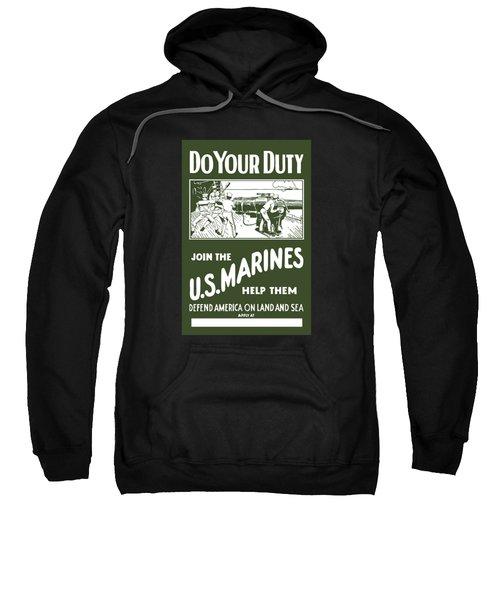 Join The Us Marines Sweatshirt