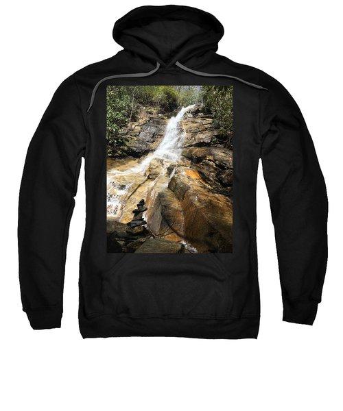 Jones Gap Falls And Monument Sweatshirt