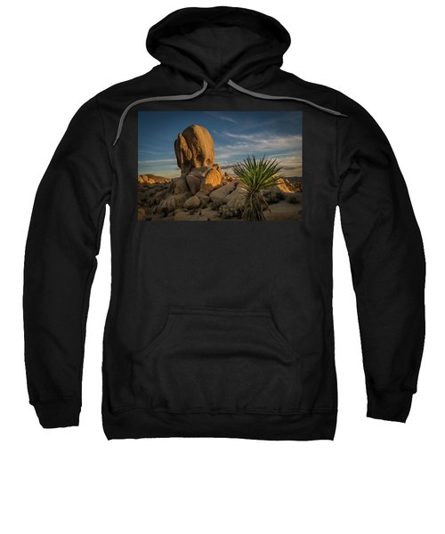 Joshua Tree Rock Formation Sweatshirt