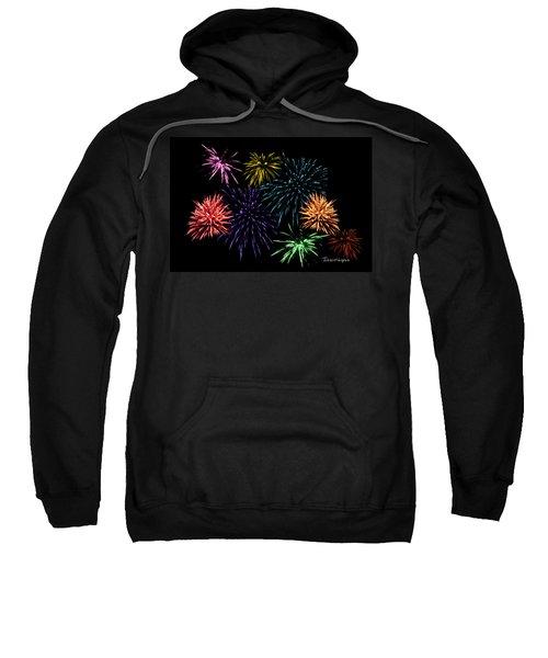 July Fireworks Montage Sweatshirt