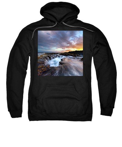 June Blow Hole Sunset Sweatshirt